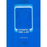Finding the Law by Robert Berring