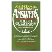 Answers to Tough Questions Skeptics Ask about the Christain Faith - Josh McDowell - Livre
