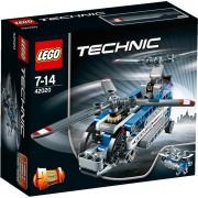 LEGO Technic Helikopter met Dubbele Rotor - 42020