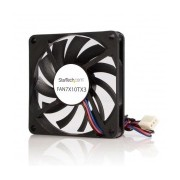 Ventilador StarTech.com con Rodamiento de Bolas Doble TX3, 70mm, 3500RPM, Negro