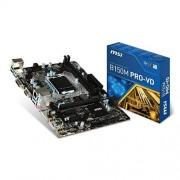 MSI B150M Pro VD Carte mère Intel Micro ATX Socket LGA1151