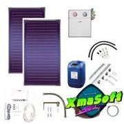 Pachet solar panouri plane - 5 - 6 persoane