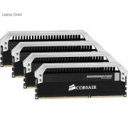 Corsair CMD32GX3M4A1866C9 32GB dominator Platinum Desktop Memory, 8Gb x 4 kit