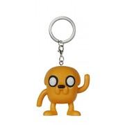 Funko - Portachiave Adventure Time - Jake Pocket Pop 4Cm