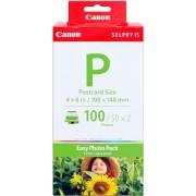 Original Canon Value Pack Blanc e-p100 1335B001