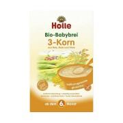 Holle 3-Korn-Brei - 250 Gramm - Babybrei - Kosmetik