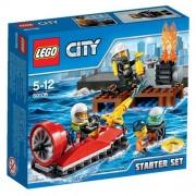 Lego - 60106 - City - Jeu de Construction - Ensemble de Démarrage Pompiers
