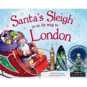 Santa's Sleigh is on its Way to London by Eric James