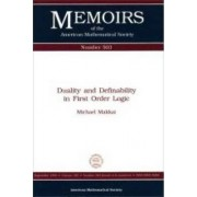 Duality and Definability in First Order Logic by Michael Makkai