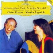 Martha Argerich & Gidon Kremer - Beethoven: Violin Sonatas Nos. 4&5 (0028941978721) (1 CD)