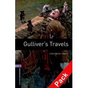 Oxford Bookworms Library: Level 4:: Gulliver's Travels audio CD pack by Jonathan Swift