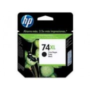 Cartucho HP 74XL Preto CB336WB 20ML