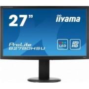 Monitor LED 27 Iiyama ProLite B2780HSU-B1 Full HD 2ms GTG Negru