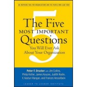The Five Most Important Questions You Will Ever Ask About Your Organization by Peter Ferdinand Drucker