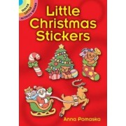 Little Christmas Stickers by Anna Pomaska