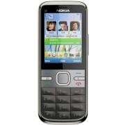 Nokia C5 (W. Grey, 50 MB)(128 MB RAM)