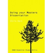 Doing Your Masters Dissertation by Christopher Hart