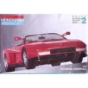 Monogram 1:24 Testarossa Convertible Car Model Kit