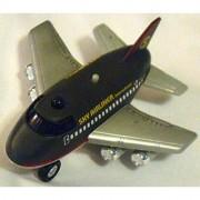 Chubby 4-inch Jumbo Jet Sky Airliner pullback motorized air plane