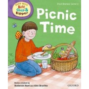 Oxford Reading Tree Read with Biff, Chip and Kipper: First Stories: Level 2: Picnic Time by Ms Cynthia Rider