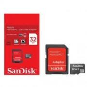 Cartão de Memória microSD Card 32GB Sandisk | SDHC | Classe 4 | SDSDQ-032G 0402