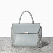 Malá stylová kabelka do ruky Nica modro šedá