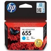 HP CZ110AE (655 cyan) eredeti HP patron Deskjet Ink Advantage 3520 sorozat Deskjet Ink Advantage 3525 Deskjet Ink Advantage 4610 sorozat Deskjet Ink Advantage 4615 Deskjet Ink Advantage 4620