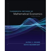 Fundamental Methods of Mathematical Economics by Kevin Wainwright