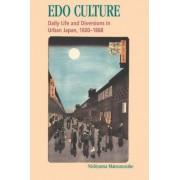 Edo Culture by Nishiyama Matsunosuke