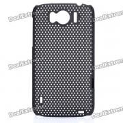 Cas de maille de protection PC pour HTC Sensation XL / X315E / G21 - Noir