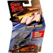 Speed Racer 1:64 Die Cast Hot Wheels Car Snake Oiler with Spear Hooks by Hot Wheels
