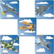 Jet Fighters Stickers 100-pak
