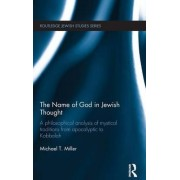 The Name of God in Jewish Thought by Michael T. Miller