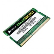 Corsair CMSO4GX3M1A1333C9 Value Select Modulo di Memoria da 4 GB, DDR3, 1333 MHz, CL9, SODIMM, Nero