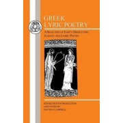 Greek Lyric Poetry by David A. Campbell