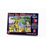Spot the Difference for Kids A Trip to the Zoo Jigsaw Puzzle