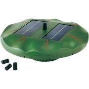 Úszó napelemes kerti tó szökőkút szivattyú, tavirózsa (551262)