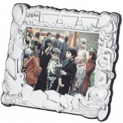 Children's Toys Photo Frame, Hallmarked Sterling Silver XOP