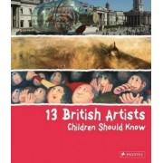 13 British Artists Children Should Know by Alison Baverstock