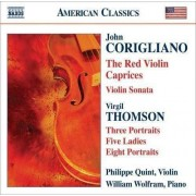 Quint/ Wolfram - Red Violin Caprices (0636943936429) (1 CD)