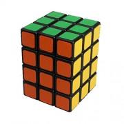 Dodolive 3x3x4 Square Column Brain Teaser Magic Cube Funny Educational Plastic Puzzle,Black