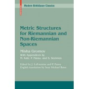Metric Structures for Riemannian and Non-riemannian Spaces by Mikhail Gromov