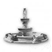 Fantani Arteziene Fontana Regale + Bazin - F67 CB (H 290 cm D: 420 cm, 3270 KG)