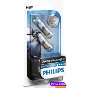 PHILIPS H6W 12v 6w BAX9s BLUE VISION ULTRA