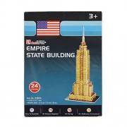 AsianHobbyCrafts Mini 3D Puzzle World's Greatest Architecture Series :Empire State Building : Model Size – 12cm x 8cm x 26cm