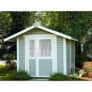 WOLFF FINNHAUS Gartenhaus Sylt B 20 mm naturbelassen