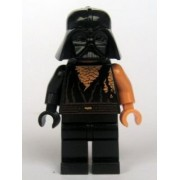 LEGO Star Wars: Anakin Skywalker Batalla Dañado Con Darth Vader Casco Minifigura