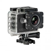 SJCam SJ5000 - Caméra Embarquée (LCD 2.0'', 1080p 30 fps, étanche jusqu'à 30 m) noir