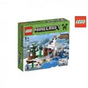Lego minecraft nascondiglio neve 21120
