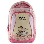 NICI 16361 Children's Backpack, Pink/ White